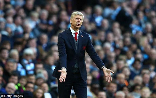 Arsenal thua đau Man City: Wenger cay cú trọng tài, Pep vỗ ngực tự hào 3