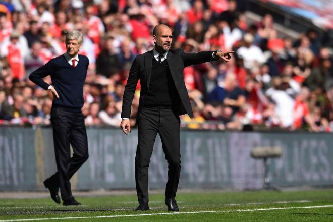 Arsenal thua đau Man City: Wenger cay cú trọng tài, Pep vỗ ngực tự hào 6