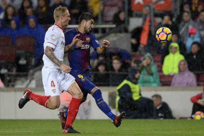 Barca gây sốc: Griezmann 100 triệu euro thay Suarez cặp Messi - 1