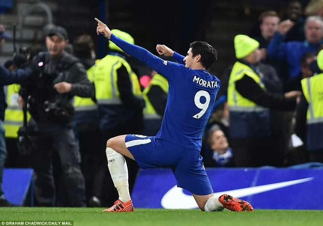 """Chelsea hạ MU: Morata siêu anh hùng, Lukaku siêu """"vô hình"""" 2"""