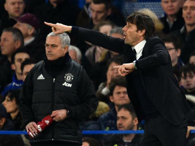 """Conte kênh kiệu với Mourinho: Hả hê vẫn coi chừng """"bay ghế"""" 2"""