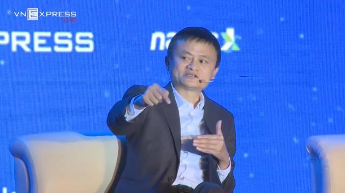 Jack Ma: Khởi nghiệp vấn đề đầu tiên không phải là tiền - 1