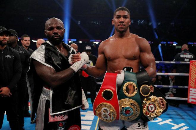 """Boxing, """"Quái vật knock-out 3 phút"""" đòi chiến Joshua: Vua chỉ đấu với vua 3"""