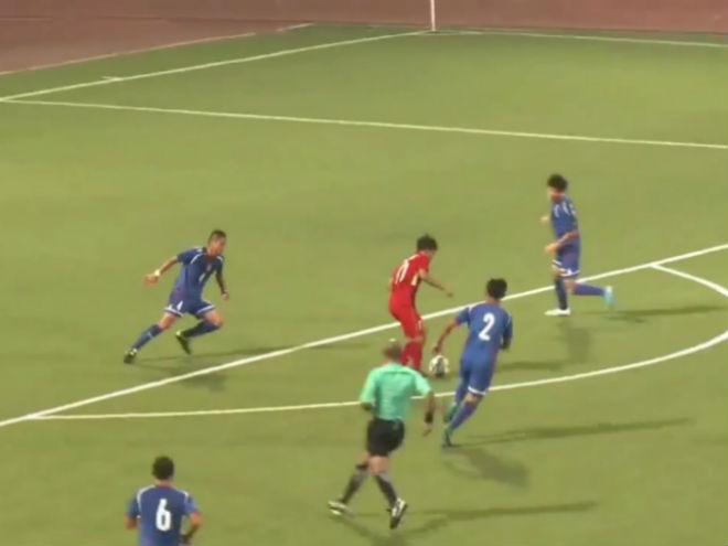 Video, kết quả bóng đá U19 Đài Loan (TQ) - U19 Việt Nam: Thế trận áp đảo, bàn thắng như mưa (H1) - 1