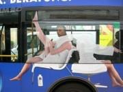 """Đi xe buýt, đừng mang những thứ  """" thò ra và dễ bị kéo đi """"  (Nhật ký phiêu lưu ký - P43)"""