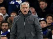 "MU bị Man City bỏ xa: Mourinho  "" gan sứa "" , đã biết sợ Pep"