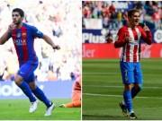 Barca gây sốc: Griezmann 100 triệu euro thay Suarez cặp Messi