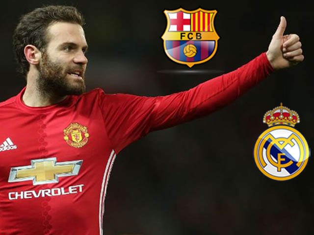"""Chuyển nhượng MU: Mata đòi ra đi, Real và Barca """"bắn tín hiệu"""""""
