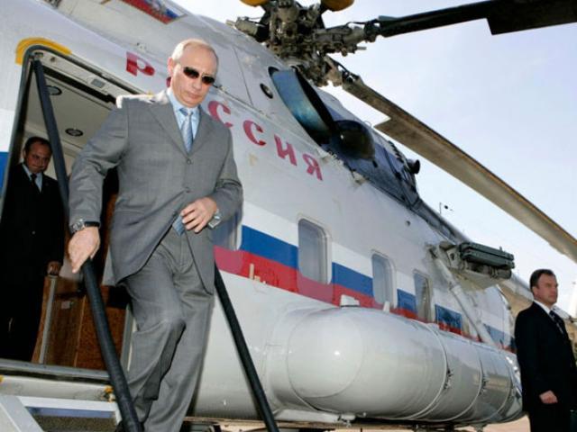 Tổng thống Putin đi gì tới dự APEC Đà Nẵng?