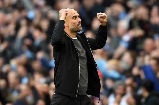 """Man City áp đảo Ngoại hạng Anh: Chưa bằng Barca - Real, khó mơ """"ăn 3"""" 1"""