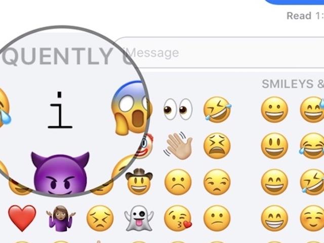 """Người dùng iOS 11 """"than trời"""" vì lỗi lạ liên quan ký tự """"I"""""""