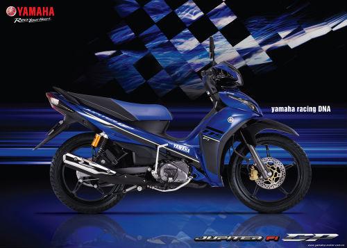 Yamaha trình làng Jupiter FI tem mới, giá 29,4 triệu VNĐ