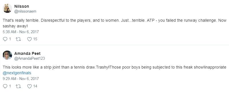 """Trò lố tennis: 8 người đẹp """"cởi áo"""" cho trai trẻ """"khám phá"""" 5"""