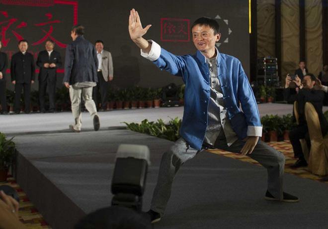 """Tỷ phú Jack Ma: """"Vỹ nhân"""" Thái cực quyền, cao thủ """"Không thủ đạo"""" - 1"""