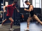 Trai đẹp tuổi  băm  khổ luyện giữ thân hình 6 múi như thế nào?