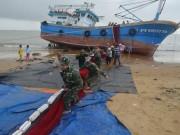 Hé lộ nguyên nhân vụ chìm tàu, thuyền viên rơi xuống biển ở Bình Định