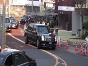 """Thế giới - Dân Nhật Bản """"choáng"""" vì dàn xe """"Quái thú"""" của ông Trump"""