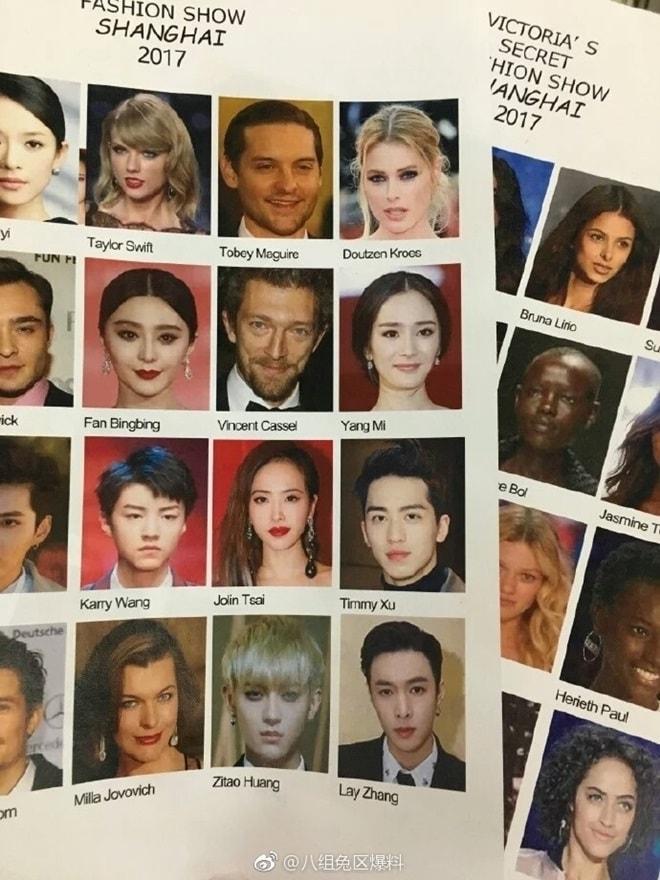 Rò rỉ dàn khách mời khủng của Victoria's Secret show 2017 - 2