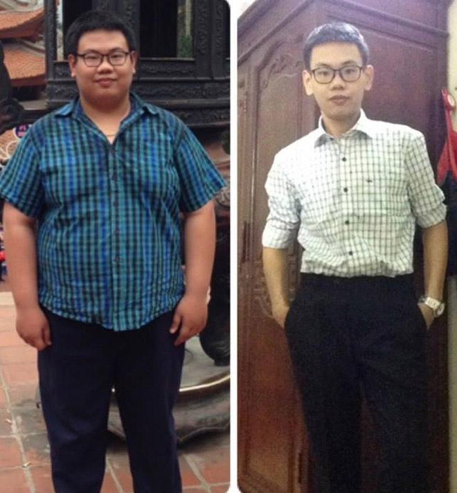 Chàng trai 1,2 tạ giảm 60kg trong nửa năm vì sợ thất nghiệp - 1