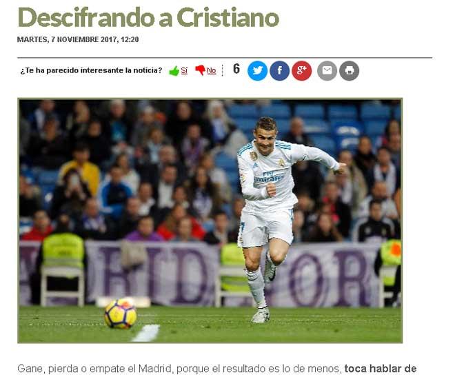 Ronaldo 1 bàn vẫn đặt cược vượt Messi, báo thân Real chỉ trích - 2