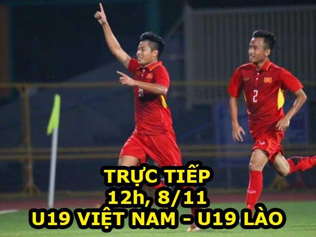 TRỰC TIẾP U19 Việt Nam - U19 Lào: 2 phút đã 2 bàn (H1)