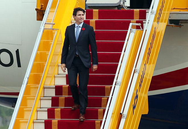 Thủ tướng điển trai của Canada đã tới Hà Nội, thăm chính thức Việt Nam - 3