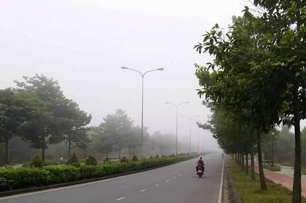 Ảnh: Sài Gòn bồng bềnh trong sương mù dày đặc - 2
