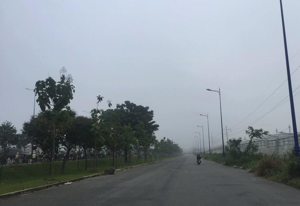 Ảnh: Sài Gòn bồng bềnh trong sương mù dày đặc - 6