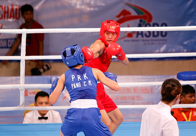 Người đẹp boxing Việt Nam vô địch châu Á sau trận kịch chiến 1