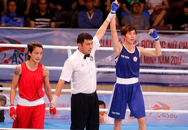 Người đẹp boxing Việt Nam vô địch châu Á sau trận kịch chiến 6