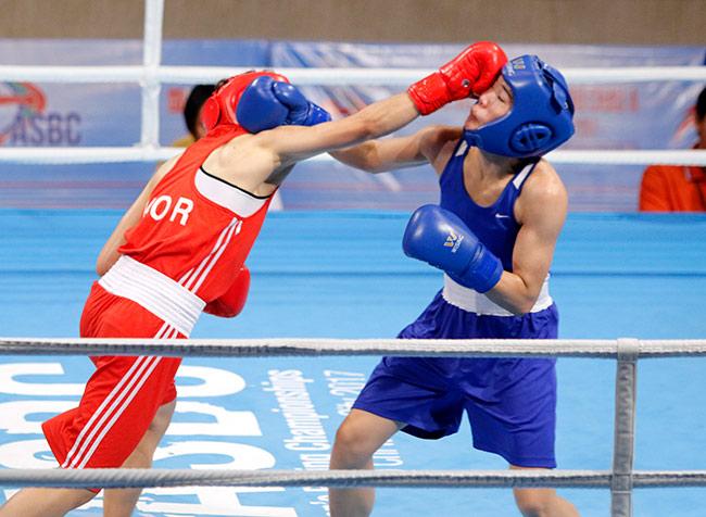 Người đẹp boxing Việt Nam vô địch châu Á sau trận kịch chiến 7