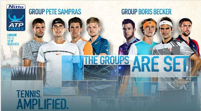 """Phân nhánh ATP Finals: Nadal thấp thỏm, Federer chờ """"trả hận"""" 1"""