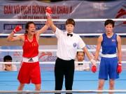 Người đẹp boxing Việt Nam vô địch châu Á sau trận kịch chiến