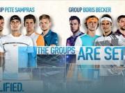 Phân nhánh ATP Finals: Nadal thấp thỏm, Federer chờ  trả hận