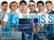 """Kết quả thi đấu tennis  """" bát hùng """"  ATP Finals 2017"""