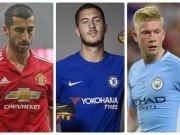 """Bóng đá - MU gặp hạn: """"Bộ não"""" Mkhitaryan tê liệt, thua xa Hazard – De Bruyne"""