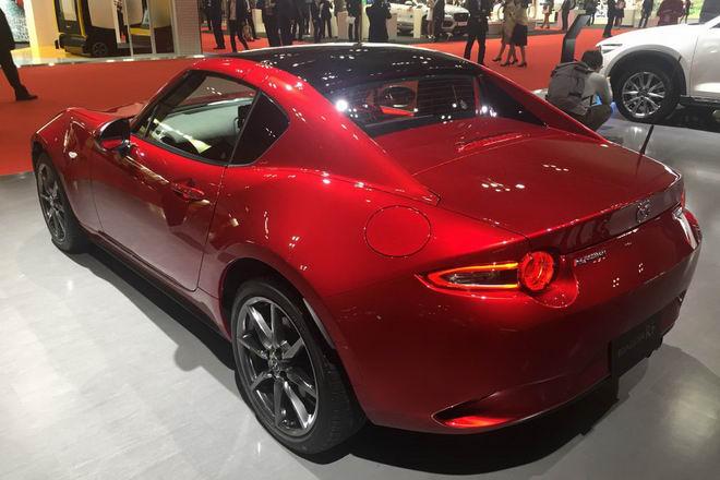 Mazda MX-5 2018 được cải tiến nhẹ - 2