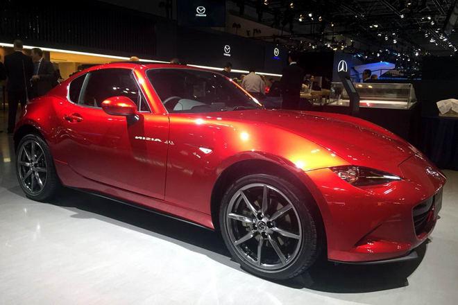 Mazda MX-5 2018 được cải tiến nhẹ - 1