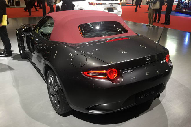 Mazda MX-5 2018 được cải tiến nhẹ - 4