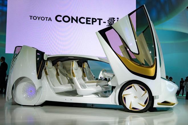 Ngắm xe công nghệ tối tân Toyota Concept-i - 3