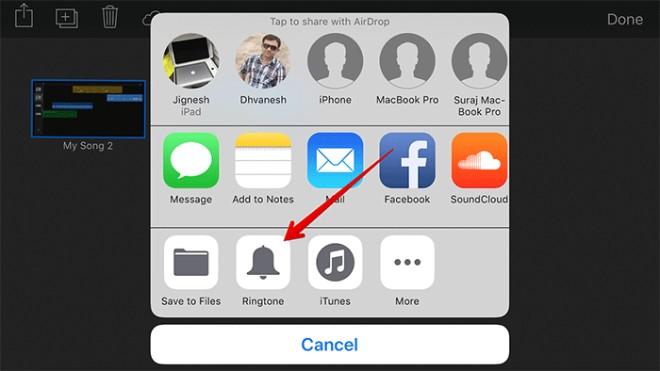 Cách tạo nhạc chuông riêng trên iPhone và iPad với GarageBand - 9