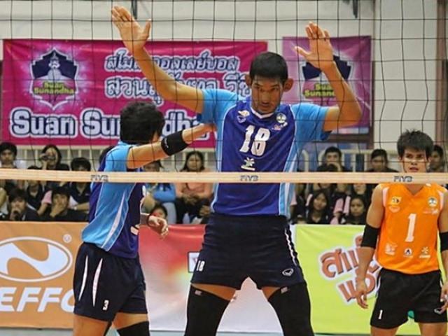 """""""Siêu nhân"""" bóng chuyền hot nhất Việt Nam: Nam 2m - nữ 1m93 2"""