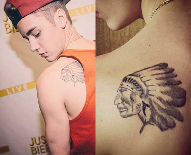 """Giải mã loạt hình xăm hiểm hóc của """"gã trai hư"""" Justin Bieber - 11"""