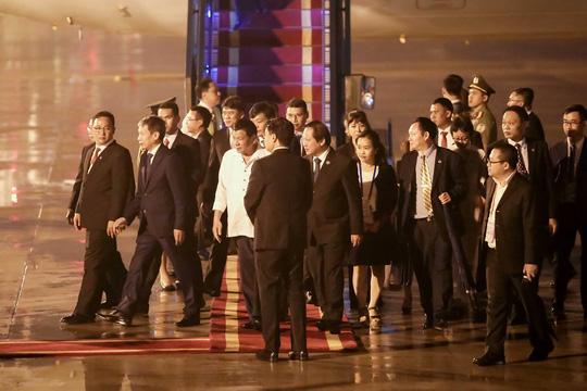 Các lãnh đạo APEC dồn dập tới Đà Nẵng - 1