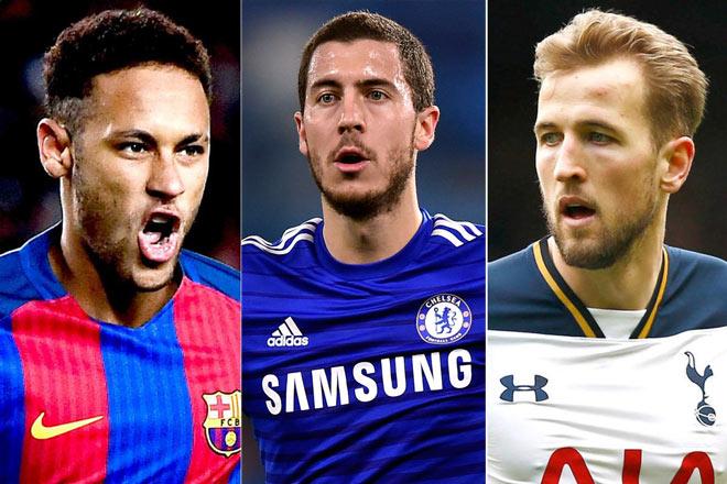Chuyển nhượng Real: Tam tấu Neymar-Hazard-Kane nửa tỷ euro bá chủ tương lai - 2