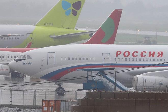"""Dàn chuyên cơ """"khủng"""" tấp nập đáp xuống sân bay Đà Nẵng dự APEC - 5"""