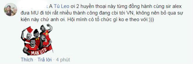 Rộ tin Giggs, Scholes tới Việt Nam: Triệu fan MU chấn động, vỡ òa sung sướng 4