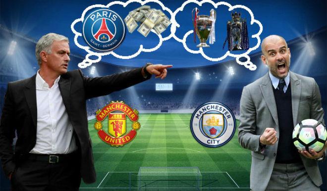 """MU nguy to: Mourinho """"đầu hàng"""" Man City-Pep, tính chạy sang PSG - 1"""
