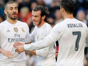 """Real:  """" Tam tấu """"  Bale-Benzema-Ronaldo trở lại, Zidane mơ ngày tháng huy hoàng"""