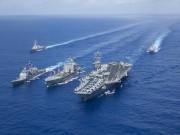 Thế giới - Ba nhóm tàu sân bay tập trận chung: Chuyện hiếm có